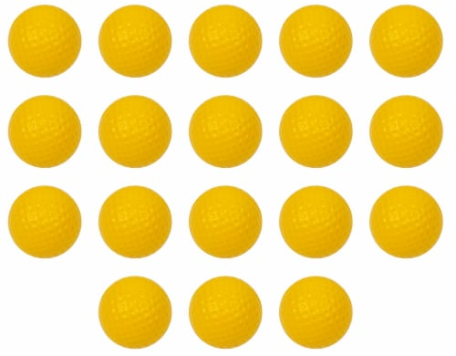 Pinemeadow SuperFly Foam Practice Balls Perspective: front