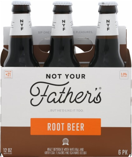 Small Town Brewery Not Your Fathers Root Beer Perspective: front