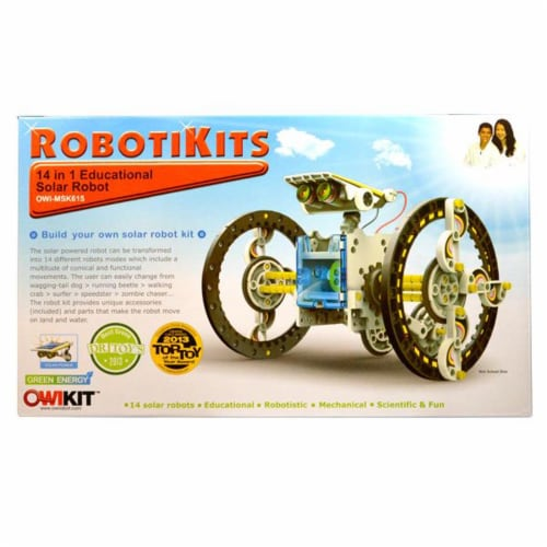 OWI  14-in-1 Solar Robot Perspective: front