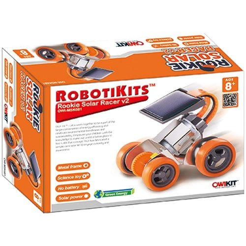 OWI  Rookie Solar Racer V2 Kit Perspective: front