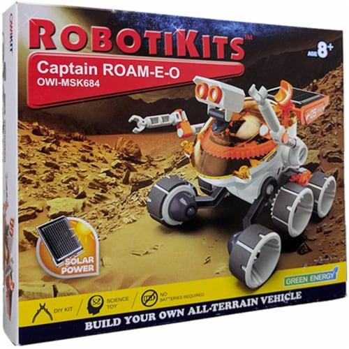 Elenco Captain Roam-E-O Bulding Model Kit Perspective: front
