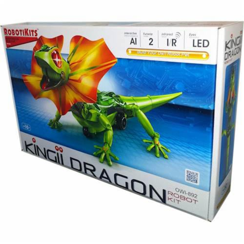 OWI  Kingii Dragon Robot Science Kit Perspective: front