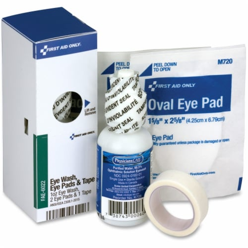 First Aid Only First Aid Kit,Refill,Green-Misc,4 Comp  FAE-6022 Perspective: front