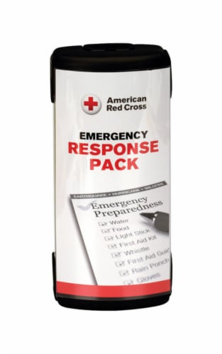 First Aid Only Emergency Response Pack 26 pc. - Case Of: 1; Each Pack Qty: 26; Total Items Perspective: front