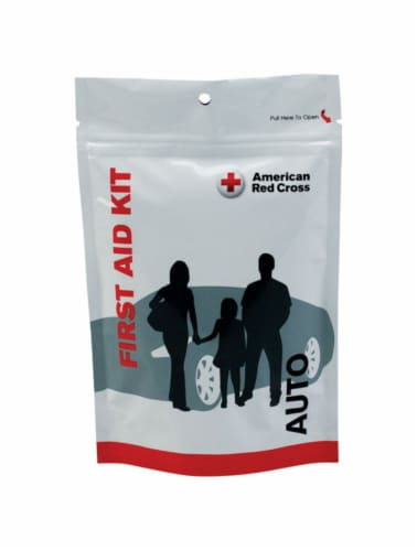 First Aid Only Auto First Aid Kit 33 count - Case Of: 1; Each Pack Qty: 33; Total Items Qty: Perspective: front