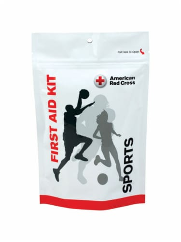 First Aid Only Sports First Aid Kit 29 count - Case Of: 1; Each Pack Qty: 29; Total Items Perspective: front
