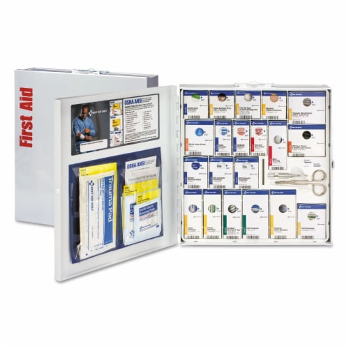 First Aid Only™ Kit,Lrg,Smtcompln Gen Bus 746004 Perspective: front