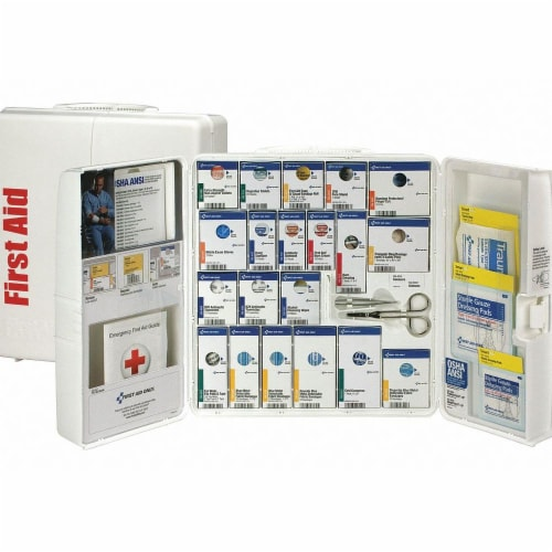 First Aid Only First Aid Kit,25 People,Plastic,289 Comp Perspective: front