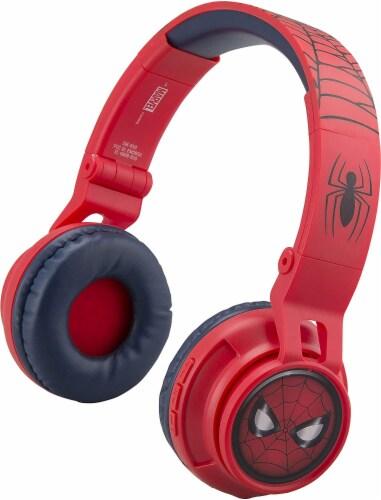 Ekids Marvel Spider-Man Bluetooth Headphones - Red Perspective: front