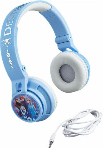Ekids Frozen Bluetooth Headphones - Blue Perspective: front
