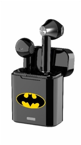 Ekids Batman True Wireless Earbuds - Black Perspective: front