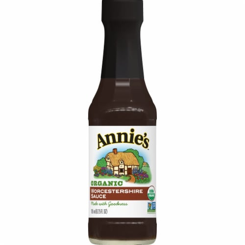 Annie's Organic Worcestershire Sauce Perspective: front
