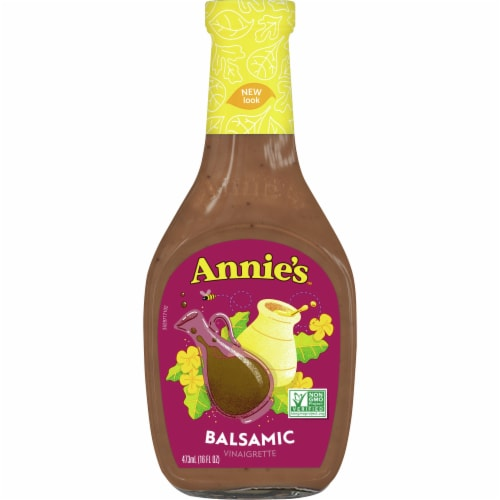 Annie's Balsamic Vinaigrette Dressing Perspective: front