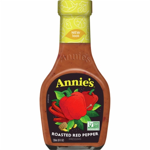 Annie's Roasted Red Pepper Dressing Perspective: front