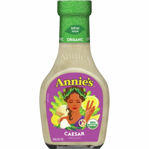 Annie's Organic Caesar Dressing Perspective: front