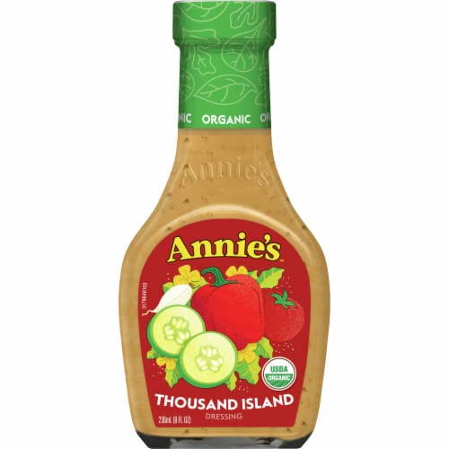 Annie's Organic Thousand Island Dressing Perspective: front