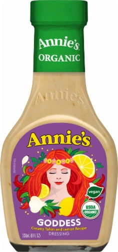 Annie's Organic Goddess Dressing Perspective: front