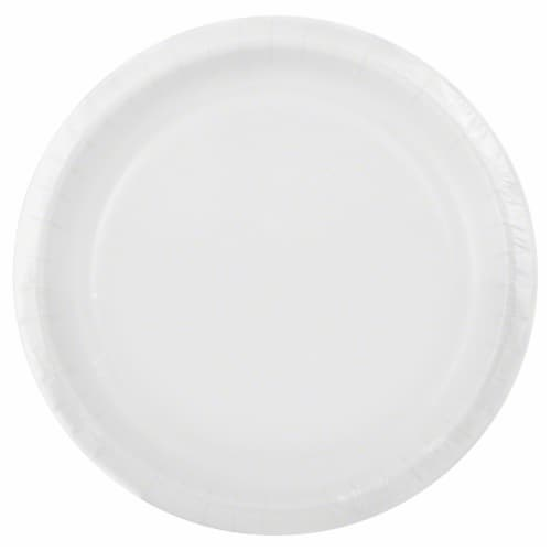 Sensations Dinner Plates - White Perspective: front