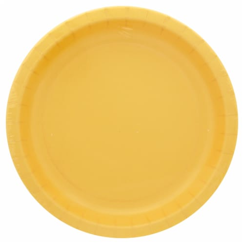 Sensations Performa Dinner Plates - Soft Yellow Perspective: front