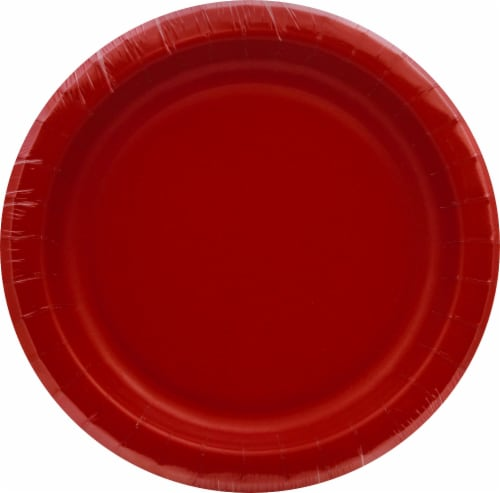 Senstions Performa Lunch Plates - Classic Red Perspective: front
