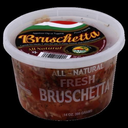 Oasis Fresh Bruschetta Perspective: front