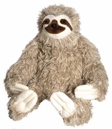 Wild Republic Cuddlekins Jumbo Sloth Plush Perspective: front