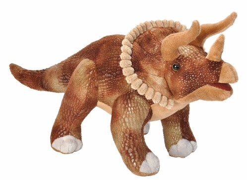 Wild Republic Dinosauria II Triceratops Perspective: front