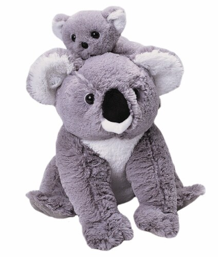 Wild Republic Mom & Baby Koala Plush Perspective: front