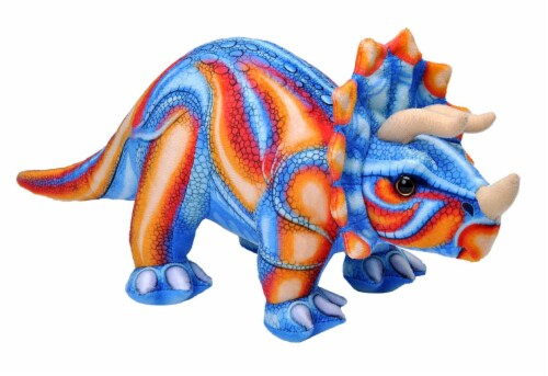 Wild Republic Dinosauria IV Triceratops Perspective: front