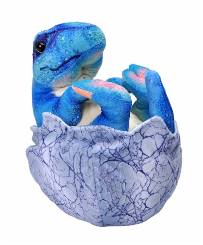 Wild Republic Dinosauria IV TRex Baby in Egg Perspective: front