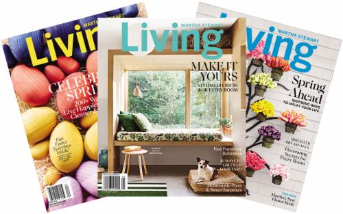 Martha Stewart Living Magazine Perspective: front