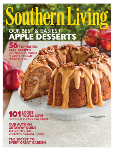 Southern Living Magazine Perspective: front
