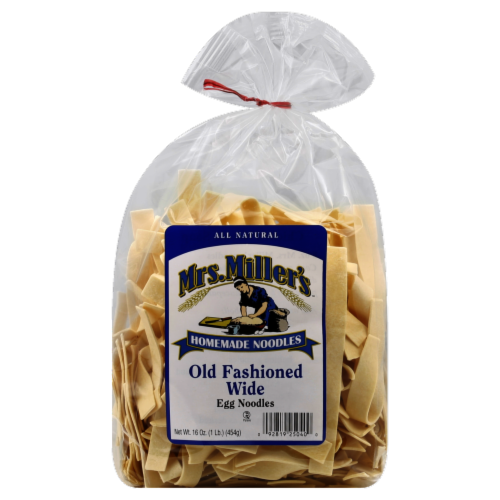 Mrs. Miller's Old Fashioned Wide Egg Noodles Perspective: front