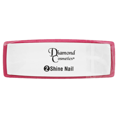 Diamond Cosmetics 2-sided Shine Nail Buffer Perspective: front