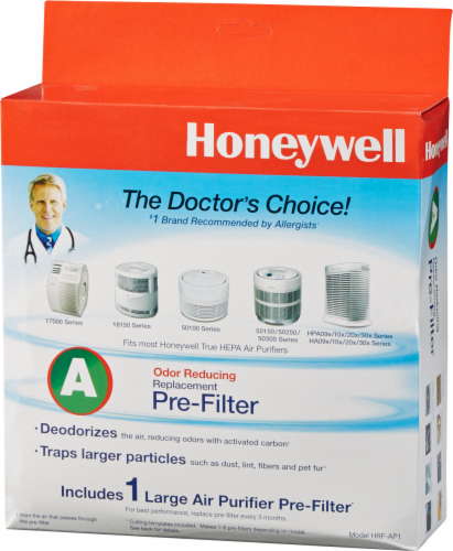 Honeywell Filter A Universal Carbon Pre-Filter Perspective: front