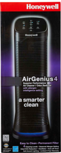 Honeywell AirGenuis 4 Air Cleaner and Odor Reducer Perspective: front