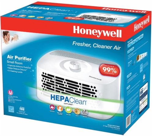 Honeywell HEPAClean® Tabletop Air Purifier Perspective: front