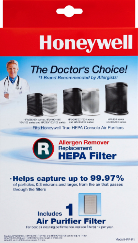 Honeywell True HEPA Air Purifier Replacement Filter Perspective: front