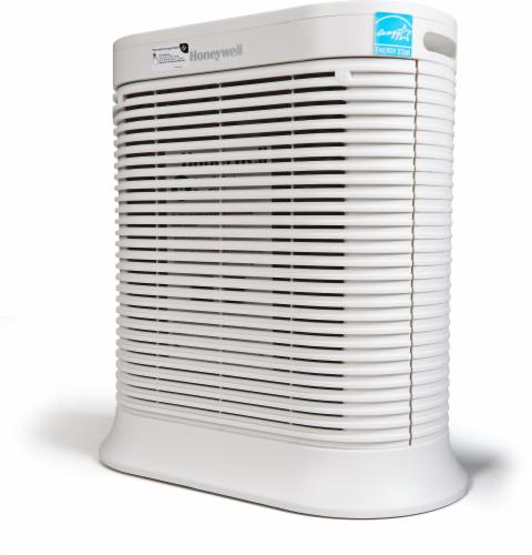Honeywell Bluetooth Smart True HEPA Allergen Remover Air Purifier - White Perspective: front
