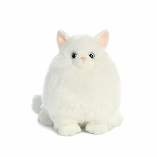 Aurora World Fat Cats Marshmallow the Persian Plush Perspective: front