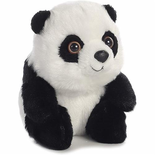 "Aurora 5"" Plush Stuffed Animal - Lin Lin Panda Perspective: front"