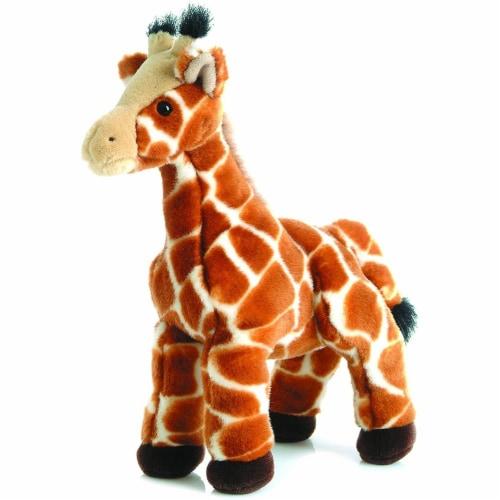 """Aurora Plush 12"""" Giraffe Zenith Flopsie Perspective: front"""