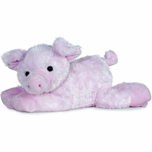 "Aurora Plush 12"" Piggolo Flopsie Stuffed Pig - 06648 Perspective: front"