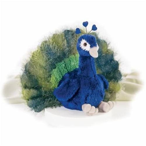 "Aurora Plush 12"" Perry the Peacock Flopsie Perspective: front"