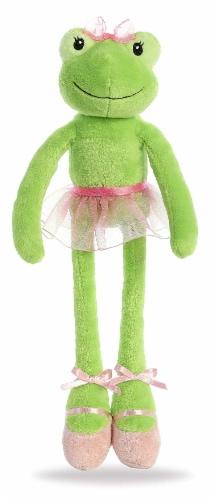 Aurora World Inc. 8883 Aurora World Hoppy Ballerina Frog Toy, Green Perspective: front