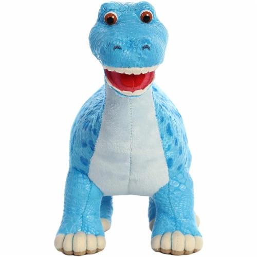 """Aurora World Dinosaur Roar - Munch Diplodocus 10"""" Plush Toy Perspective: front"""