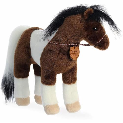 "Breyer Aurora 13"" Paint Horse Plush Perspective: front"