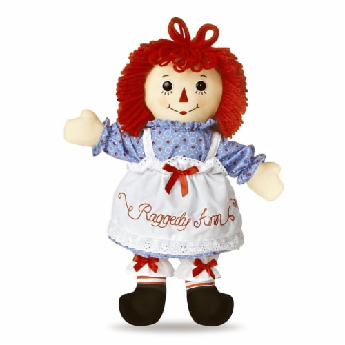 "Raggedy Ann Classic Doll 12"" Perspective: front"