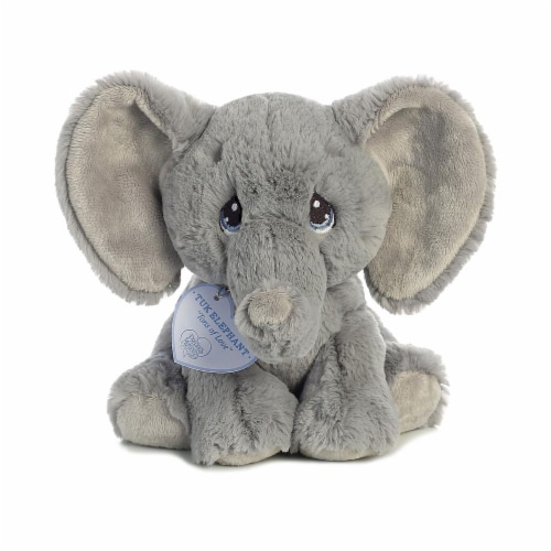 Tuk Elephant 8 inch - Baby Stuffed Animal by Precious Moments (15704) Perspective: front