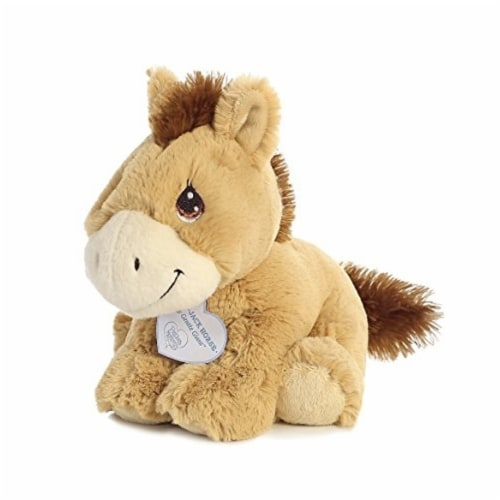 Apple Jack 8 inch - Baby Stuffed Animal by Precious Moments (15707) Perspective: front